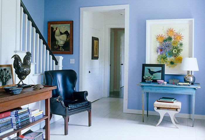 Foyer Artwork : Stylish entryway ideas