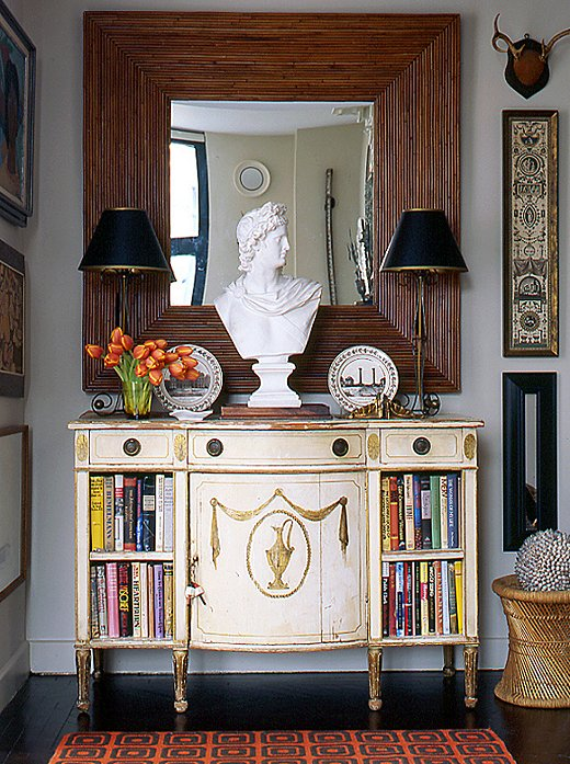 Funky Foyer Furniture : Stylish entryway ideas