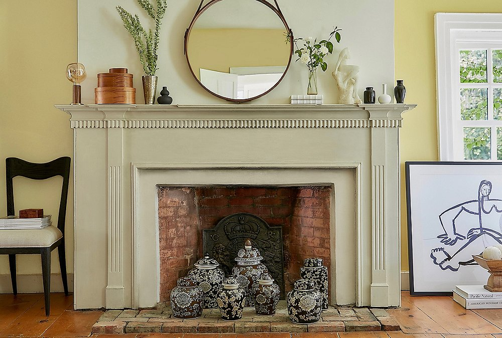 How to Style Your Fireplace