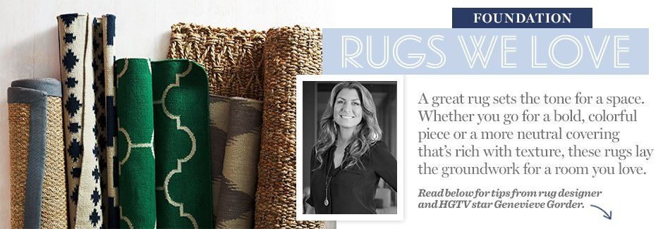 Foundation: Rugs We Love