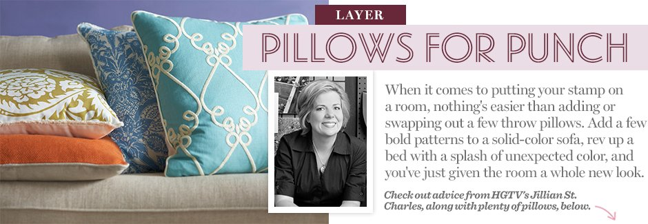 Layer: Pillows for Punch