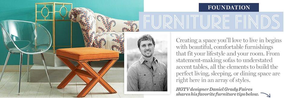 Foundation: Furniture Finds