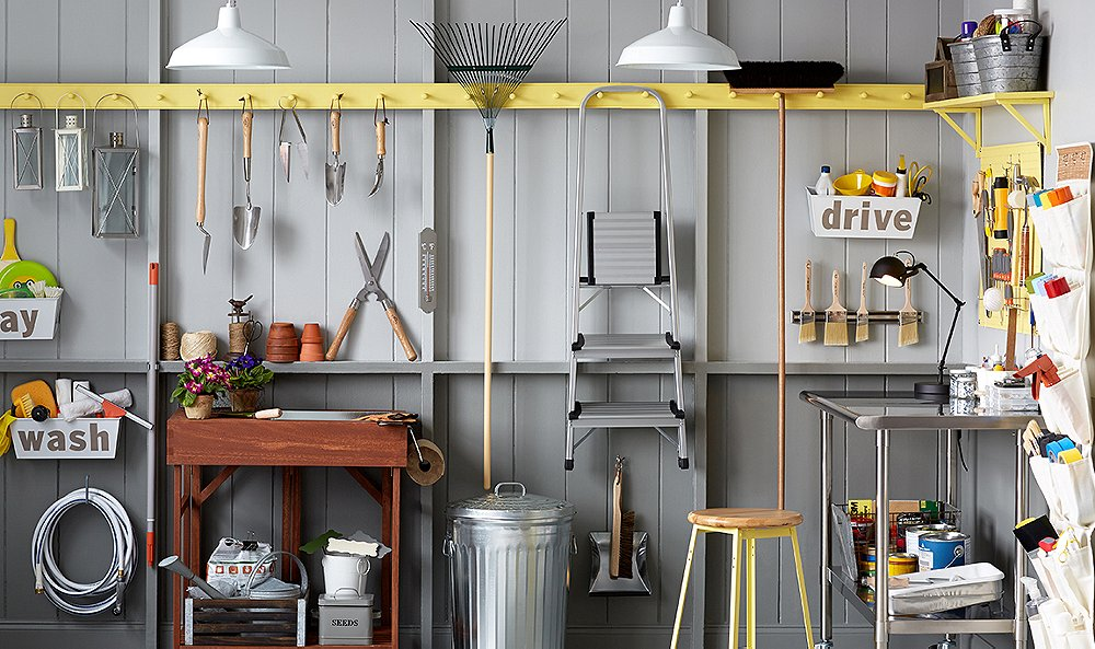 Tidy Up Your Garage with These 6 Tricks. Stylish Garage Organization Ideas    One Kings Lane