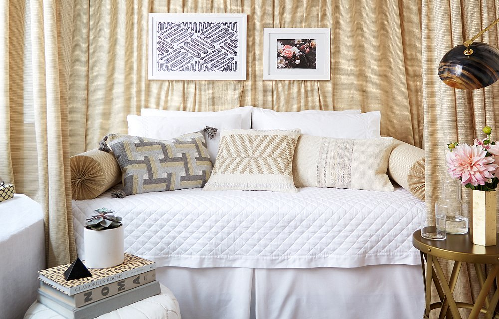 A Glamorous (and Renter-Friendly) Bedroom Makeover
