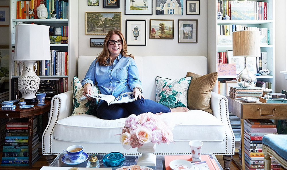 Inside a Chic Blogger's Enviable Uptown Pad