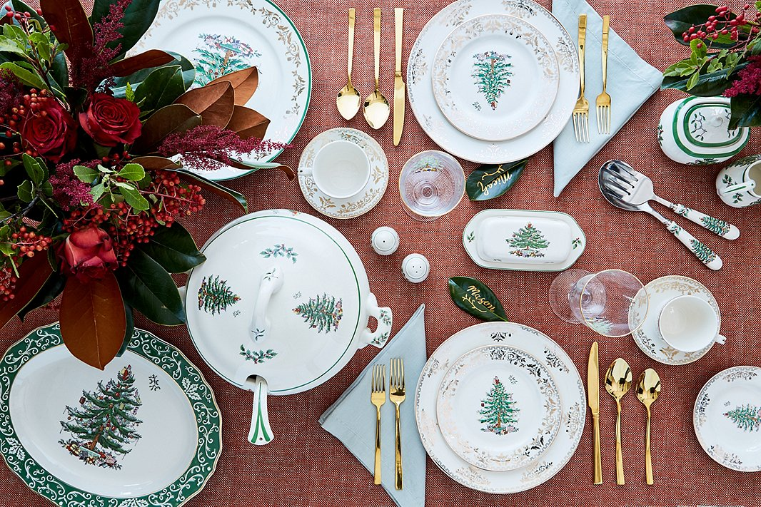 For decades, Spode's Christmas Tree tableware has been an essential part of Christmas dinner.