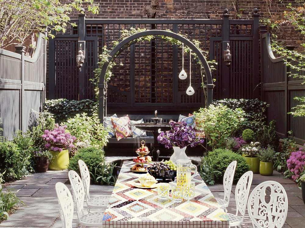 Ideas for stunning urban gardens for Urban garden design ideas