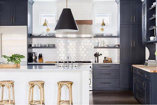Oklobsessed Timeless Tuxedo Kitchens One Kings Lane