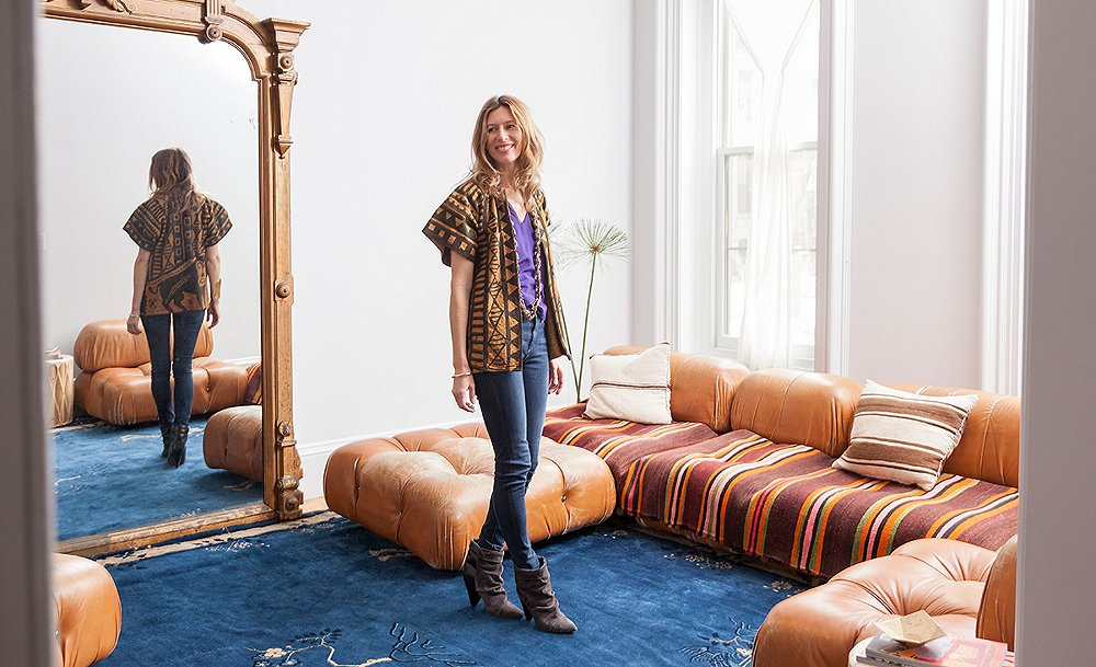 Tour the Global-Chic Brownstone of the Inspiring Julia Chaplin