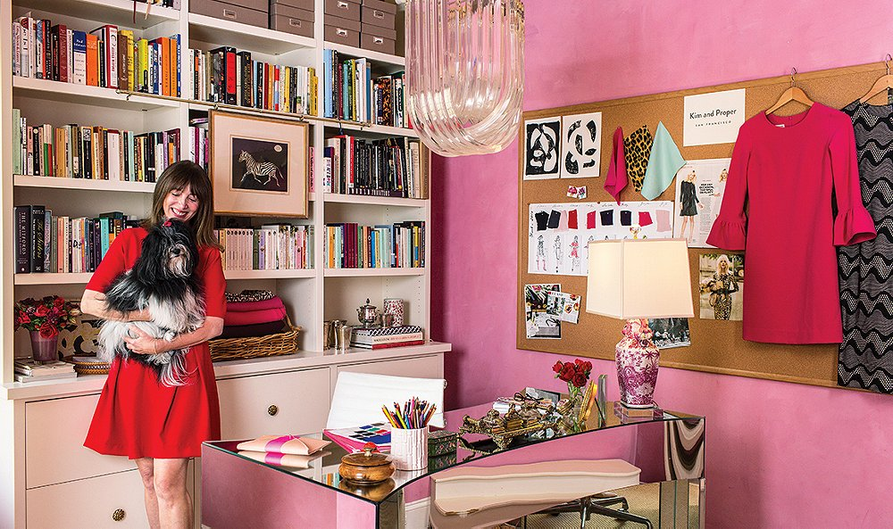 At Home With Dress Designer Kim Bachmann
