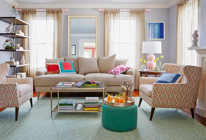 Total living room makeover in 7 easy steps for Living room makeovers