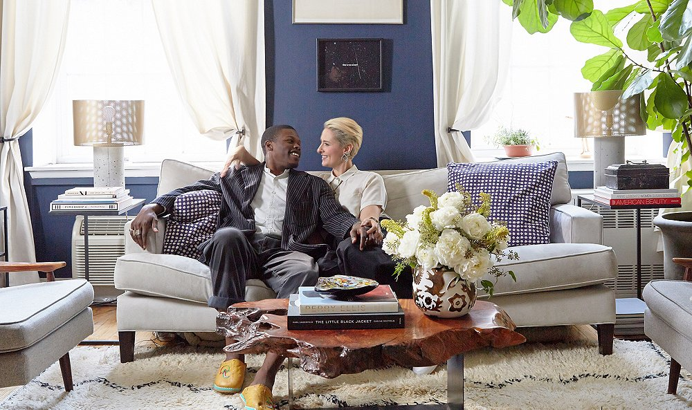 Inside Newlyweds Lisa Salzer and Marlon Taylor-Wiles's Cozy Downtown Digs