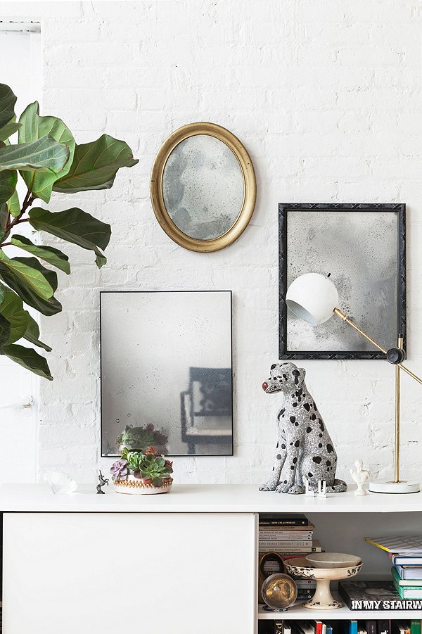 Weekend Decorator-Antiquing a Mirror-One Kings Lane-Our style blog