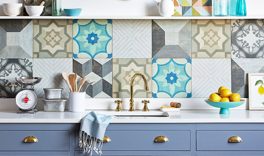 The Easiest Backsplash Install You've Ever Seen!