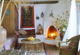 Moroccan decor wall