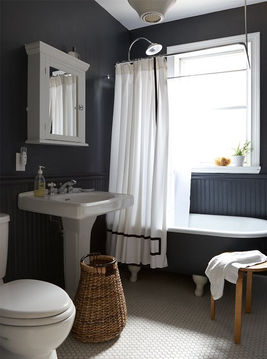 Black Wall Paint beyond-gorgeous black rooms -- one kings lane
