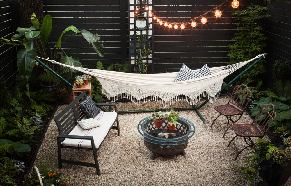 Inside Our Editors Inspiring Backyard Makeover