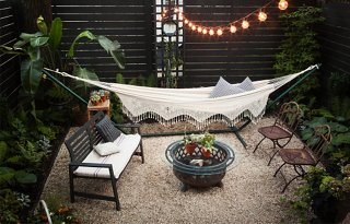 Inside Our Editoru0027s Inspiring Backyard Makeover