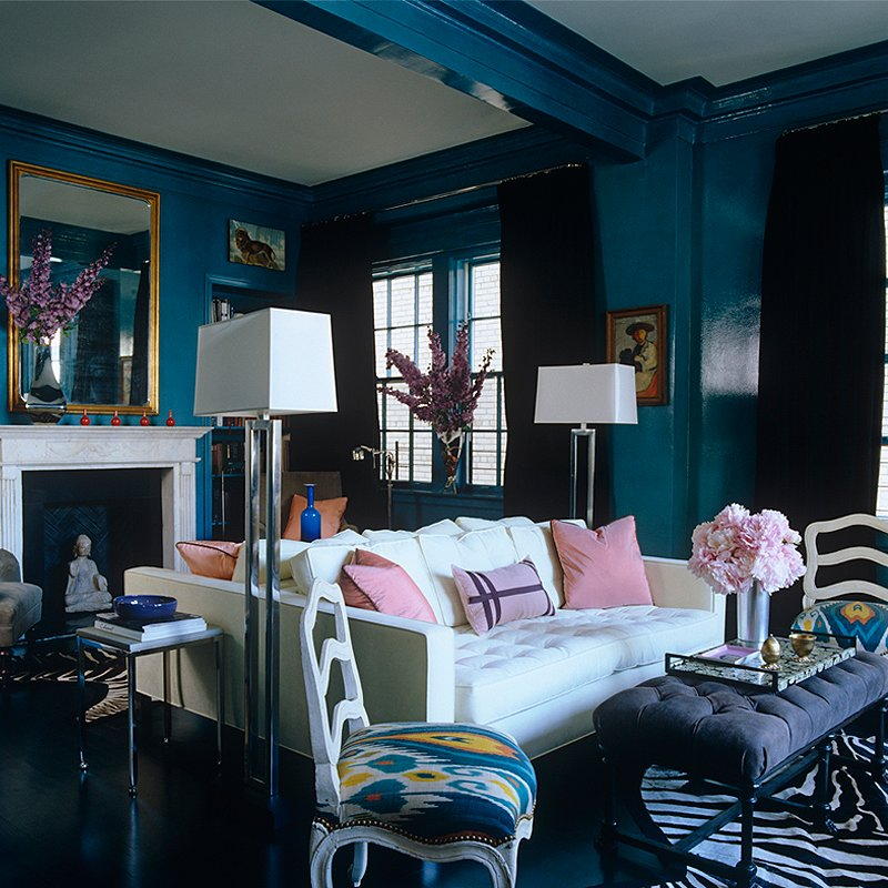 Blue Toned Room