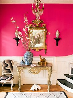 Neon Pink Interior Paint Part - 43: Interior By Jonathan Berger.