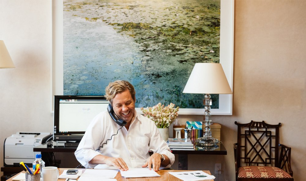 Inside The Offices Of Michael Smith