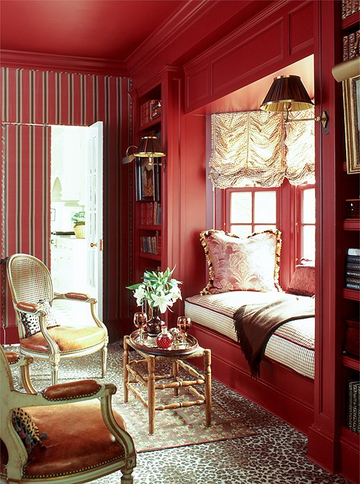We Re Currently Loving Red Rooms