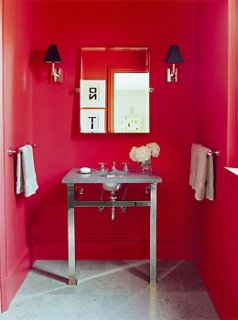 Awesome Red Bathroom Decor