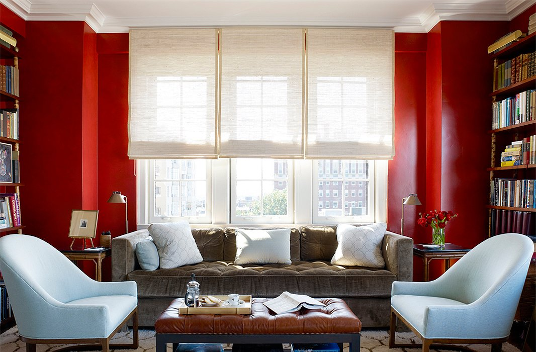 We\'re Currently Loving: Red Rooms
