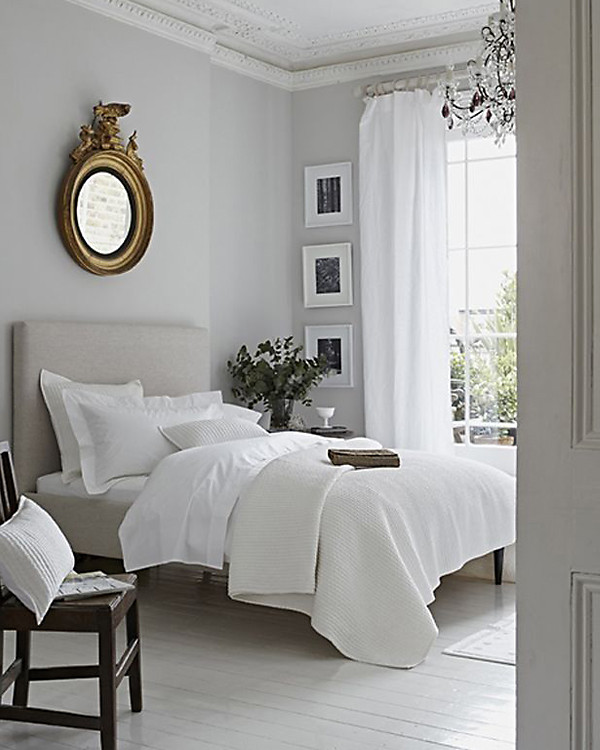 Light Grey Bedroom Ideas: White Rooms On Pinterest
