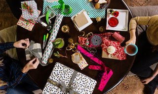 Holiday wrapping