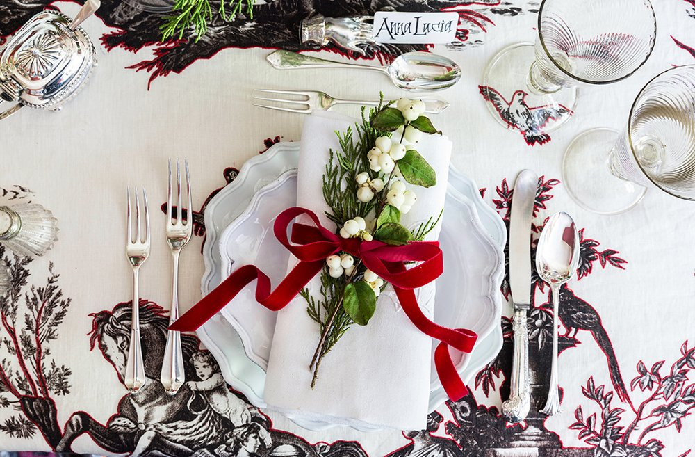how to set a table setting
