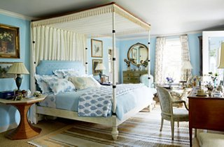 a bedroom and coordinating your headboard