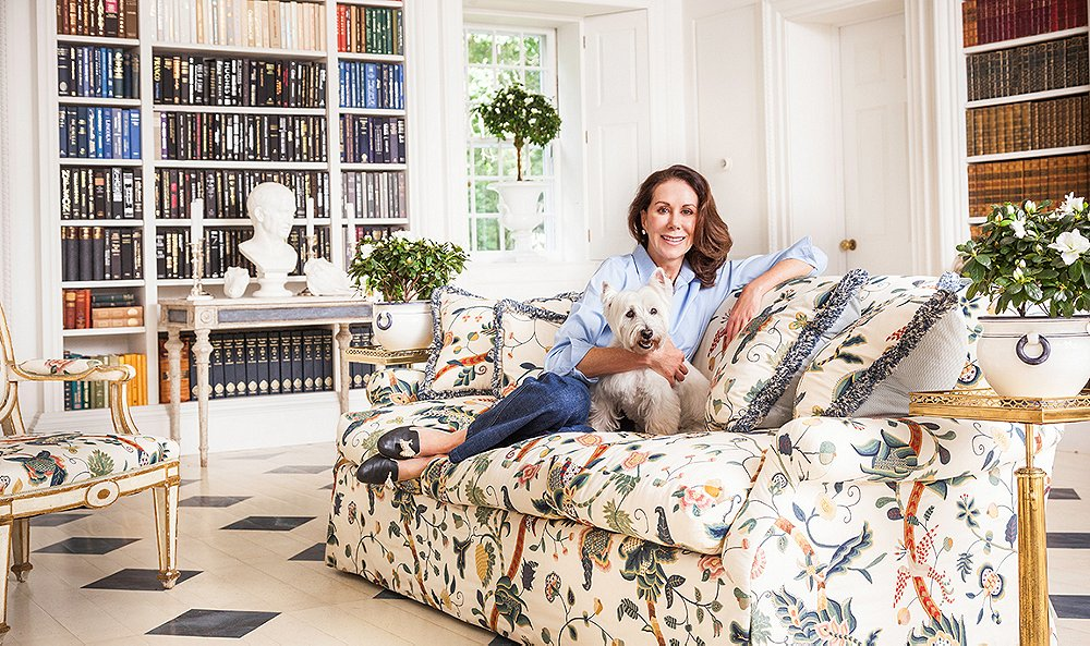 Inside the Next-Level Elegance of Carolyne Roehm's Connecticut Estate