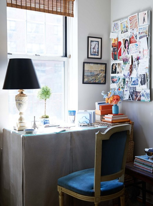 Habitually Chic inside a very chic blogger's uptown pad