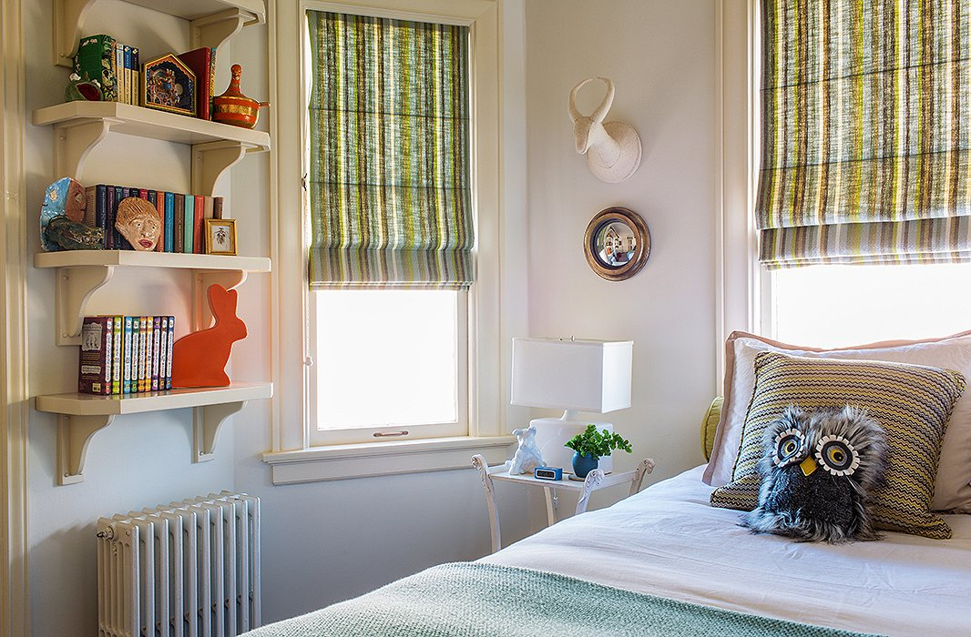 Bachmann designed her youngest son's room when he was 8. It's still sweet, but not so much so that the now 11-year-old can't hang out there with his friends.