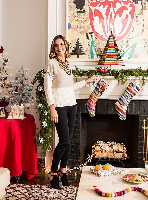 Family-friendly decorating comes naturally to Lilly, whose projects, whether everyday or holiday, are always posh but never pretentious.