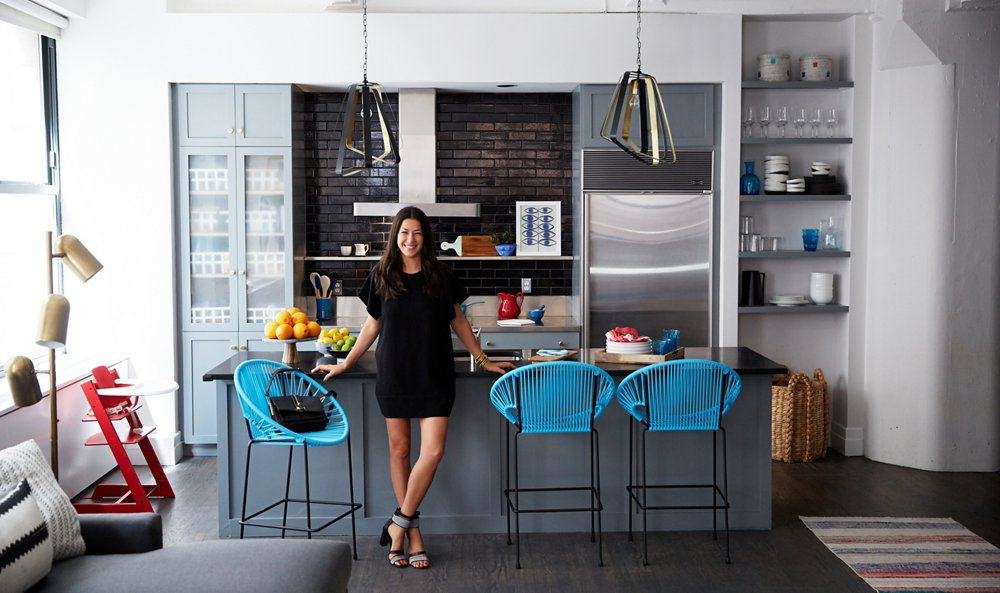 Modern Apartment Inside our vibrant makeover of rebecca minkoff's apartment