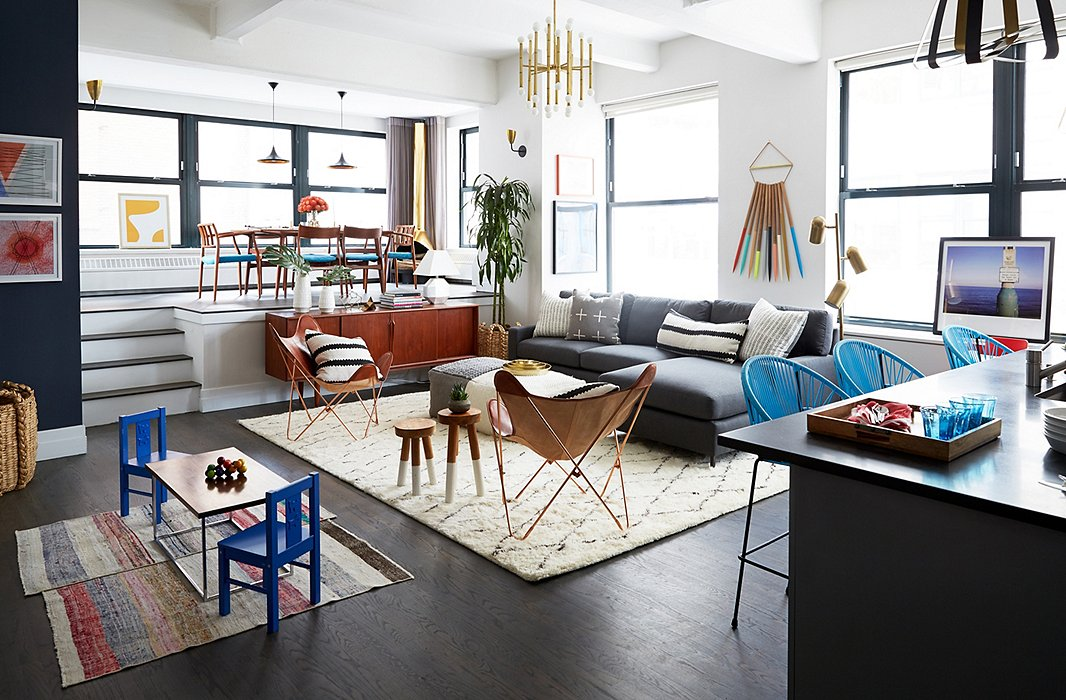 Vibrant Makeover of Rebecca Minkoff\'s Apartment