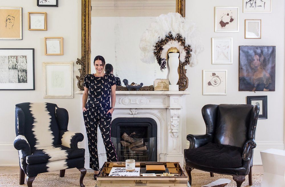 Tour Sara Ruffin Costellos Striking and Stylish Home One Kings