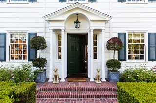 Timothy left the houseu0027s exterior unchanged but updated the front and back yards with crisp & Inside Designer Timothy Corriganu0027s Lavish and Layered L.A. Home ...