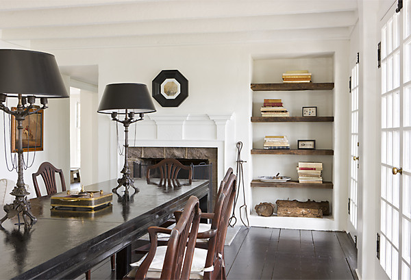 Natural Materials In This Dining Room Photography By Gordon Beall