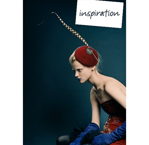 The inspiration photo by fashion photographer David Slijper