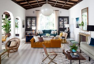 The White Walls In This Gorgeous Living Room, Designed By Sasha Adler And  Lauren Gold