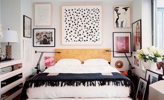 Above the bed decor ideas
