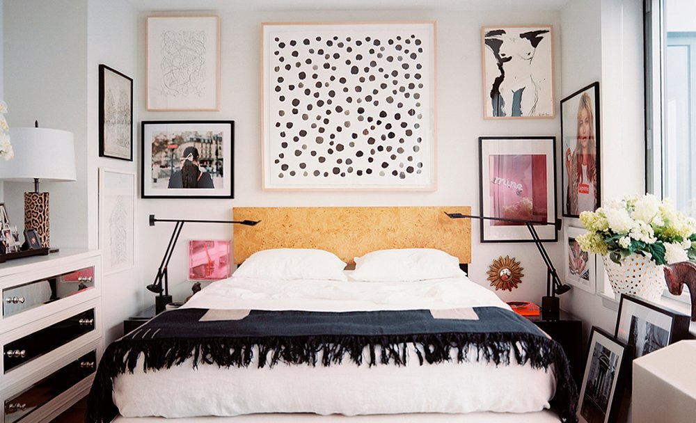 Cool Things To Hang On Wall 7 inspiring ideas for above the bed