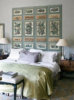 Over The Bed Art Part - 17: Photo By Marc Van Praag / Interior Archive