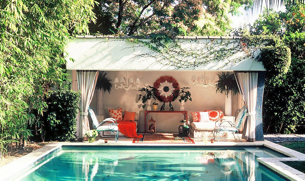 Anatomy Of A Room A Picture Perfect Pool House One Kings Lane