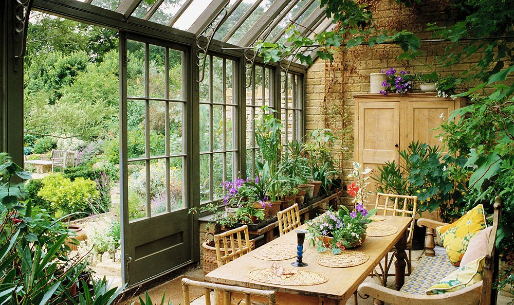 anatomy of a room dreamy conservatory ideas one kings lane. Black Bedroom Furniture Sets. Home Design Ideas