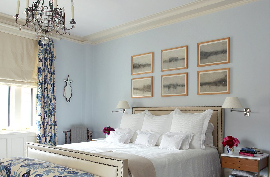 photo by tim street porter otto design by timothy whealon - Blue Bedroom Paint Colors