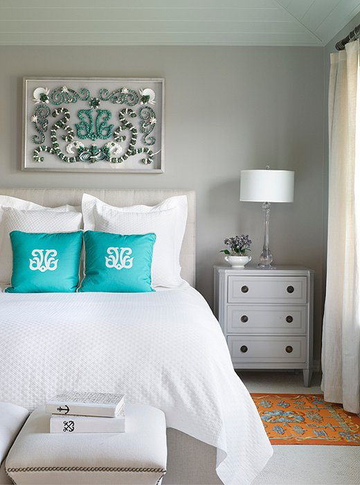 Painted Bedrooms. Photo by Annie Schlechter  GMA Images Design Karen Robertson 6 Bedroom Paint Colors for a Dream Boudoir